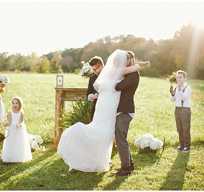 Thigpen Wedding | Starlight Meadow, NC | Wedding Photographer