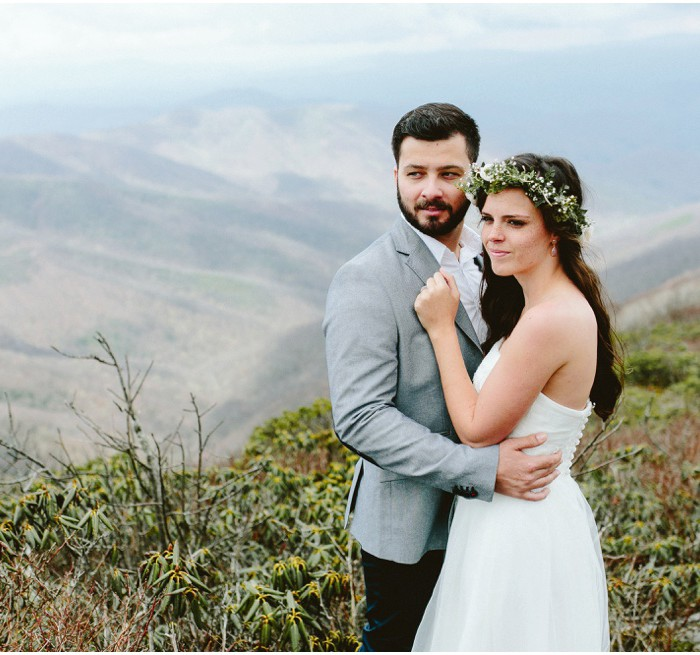 Oakes Elopement | Craggy Mountain, NC | Asheville Wedding Photographer
